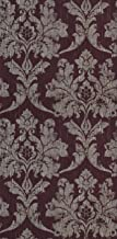 Marcopolo Solid Sheet Vinyl Wallpaper Maroon 53x1000cm
