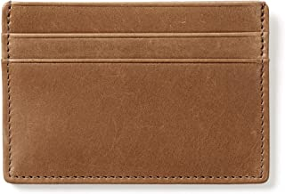 Leatherology Men's Slim Credit Card Case Wallet - RFID Available
