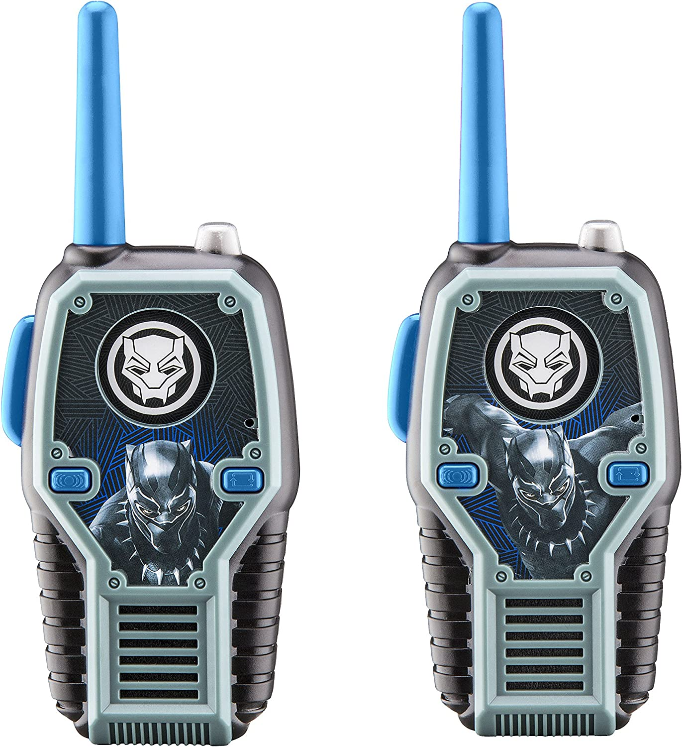 Black Panther FRS Walkie Talkies with Lights and Sounds Kid Friendly Easy to Use
