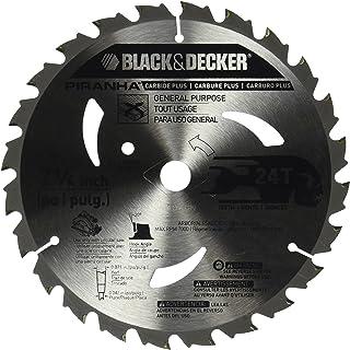 Black & Decker pr82424T 7–1/4-inch carburo Hoja de sierra