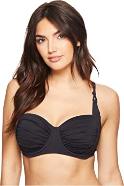 Oh So Knotty Sling X-Back D-Cup Bikini Top