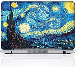 Meffort Inc 15 15.6 Inch Laptop Notebook Skin Sticker Cover Art Decal (Free wrist pad) - The Starring Night