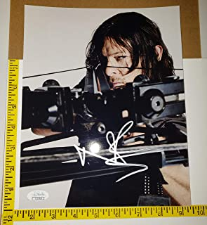 Norman Reedus (Daryl Dixon) 8 inches x 10inch AUTOGRAPH Photo Walking Dead Bow Silver-Ink #Bk2