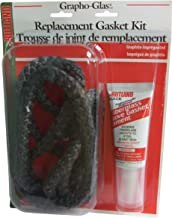 Rutland Products Rutland 99N-6 Grapho-Glas Gasket Replacement Rope Kit, 7/8