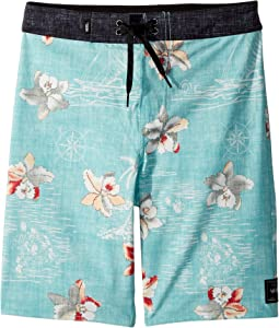Hawaii Floral Boardshorts (Little Kids/Big Kids)