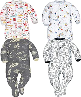 Sibinulo Niño Niña Pijama Bebé Pelele de Algodón- Tamañ