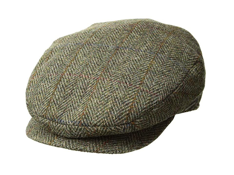 1940s Mens Hat Styles and History Stetson Harris Tweed Ivy Olive Traditional Hats $63.00 AT vintagedancer.com