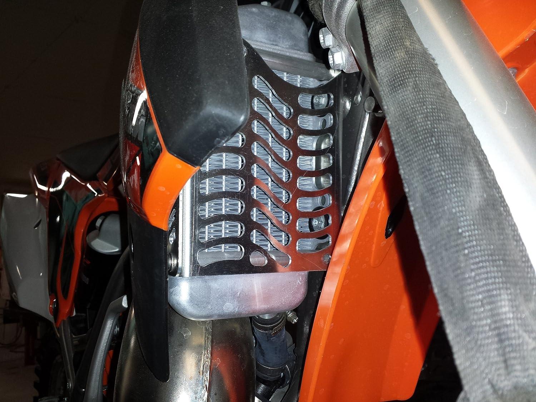 Unabiker 13-15 KTM 85 SX Black SXS Radiator Guards