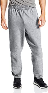 Hanes Men's EcoSmart Fleece Sweatpant, Light Steel, Large (Pack of 2)