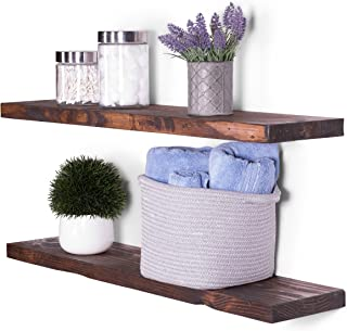 DAKODA LOVE Floating Shelves Solid Wood 36