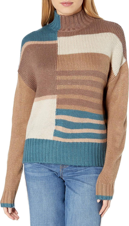 開催中 訳あり品送料無料 RVCA Women's Crossfire Neck Sweater High