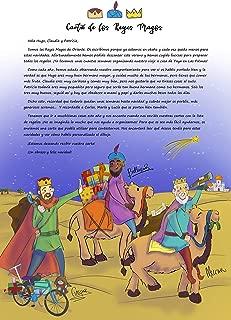 Carta de los Reyes Magos Personalizada para tus hijos - Prepara la Navidad