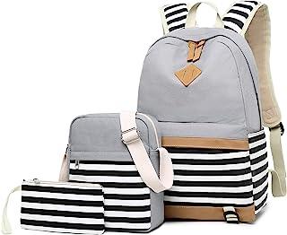 حقيبة ظهر مدرسية للبنات ، مجموعة حقائب مدرسية للبنات ، حقائب الكتب + حقيبة الكتف + حقيبة 3 في 1