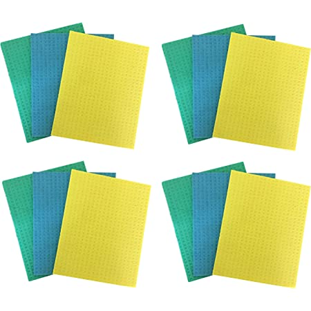 Brite Guard Cellulose Cleaning Sponge Mops (Pack of 12)