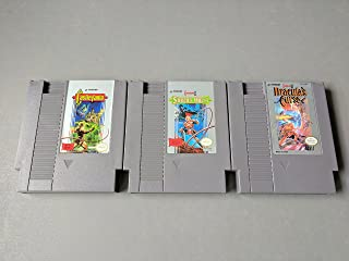 NES Castlevania Trilogy - Castlevania, Castlevania II: Simon's Quest, Castlevania III: Dracula's Curse