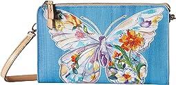 Brighton Belle Jardin Flutter Embroidered Pouch