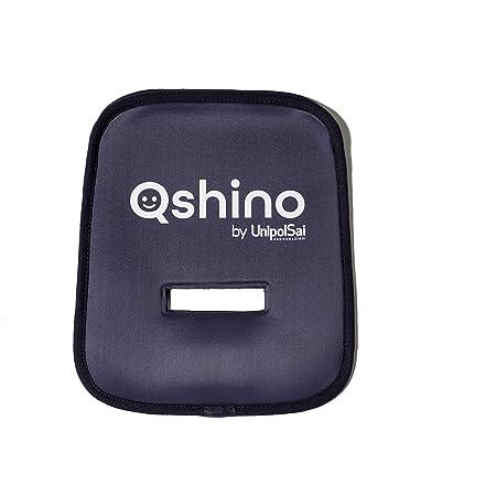 Qshino By Unipolsai Assicurazioni Dispositivo Antiabbandono Universale Per Seggiolini Auto, Bluetooth, Blu, 133 gr