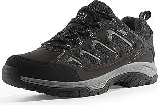 Wantdo أحذية المشي لمسافات طويلة للرجال مقاومة للماء في الهواء الطلق منخفضة القص المشي لمسافات طويلة للرحلات