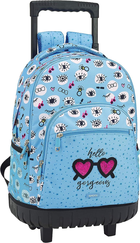 Moos 2018 School Backpack, 45 cm, bluee (blue)