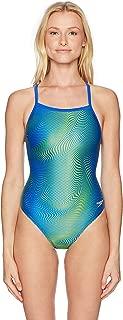 Speedo Women's Hydro amp Flyback powerflex eco one Piece Swimsuit