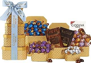 Wine Country Gift Baskets Godiva Milk & Dark Chocolate Tower