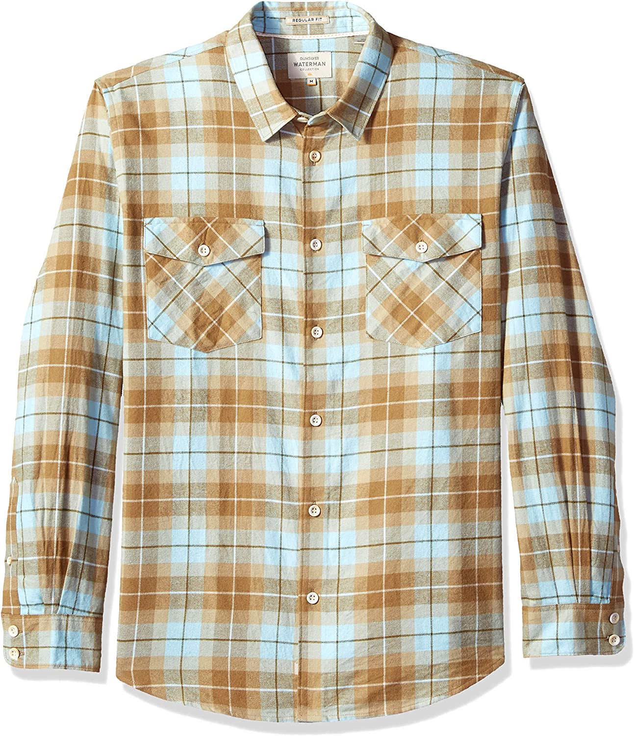 3b0ad7b3 Quiksilver Mens Wade Creek Button Down Down Down Shirt 29e800 ...