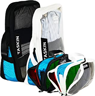 New - Compression Packing Cubes | Triple Zipper | Seperate Clean & Dirty Compartments w/Flexible Separator | YKK Zippers