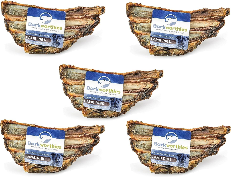 Barkworthies Lamb Ribs (5 Pack)