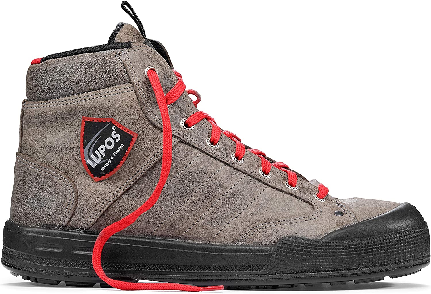 Lupos Rodney S3 Src Esd LU10064 Safety shoes, ETPU, 43, Turtle Black Red