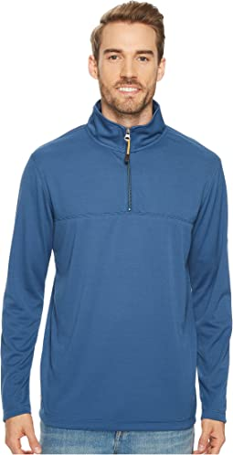 Quiksilver Waterman - Ocean Sweeper Long Sleeve 1/4 Zip Pullover