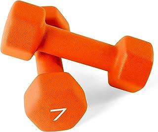 8lb Dumbbell Weight Pair Orange