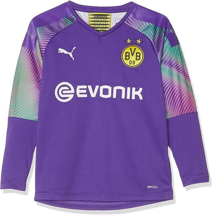 Borussia Dortmund BVB-Casual Sweat /à capuche pour femme avec logo Noir