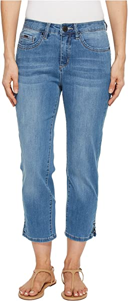 FDJ French Dressing Jeans - Coolmax Denim Olivia Crop in Chambray