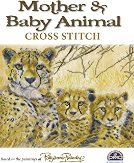 Mother & Baby Animal: Cross Stitch