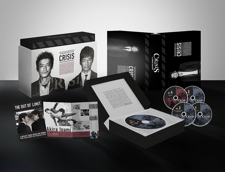 賠償余暇納得させるCRISIS 公安機動捜査隊特捜班 Blu-ray BOX