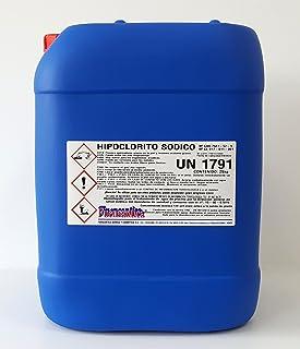 Fuensantica Hipoclorito Sódico/Cloro Liquido 14% 25 Kg