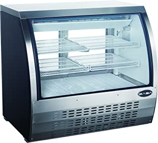 Limited Time Special! Commercial Deli Case Refrigerator with Curved Glass Display 47'' with LED lighting