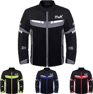 HWK Mesh Motorcycle Jacket Riding Air Motorbike Jacket...