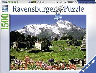 Ravensburger - 16344 - Puzzle - Le Monal Sainte-Foy Tarentaise - 1500 pièces