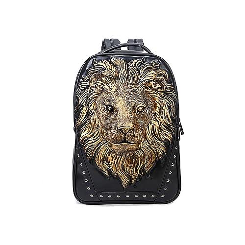 08e78b6daf Berchirly Lionhead Backpack Shoulder Bag Portable Handbag For Women Girls