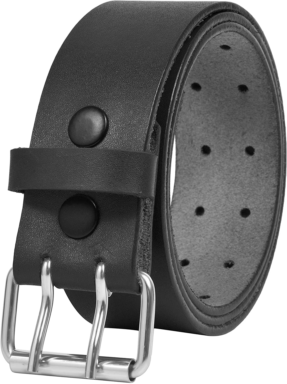 Leather Belts Max Max 46% OFF 61% OFF for Men Heavy Duty Double Cas Wide 1.75 Prong Inch
