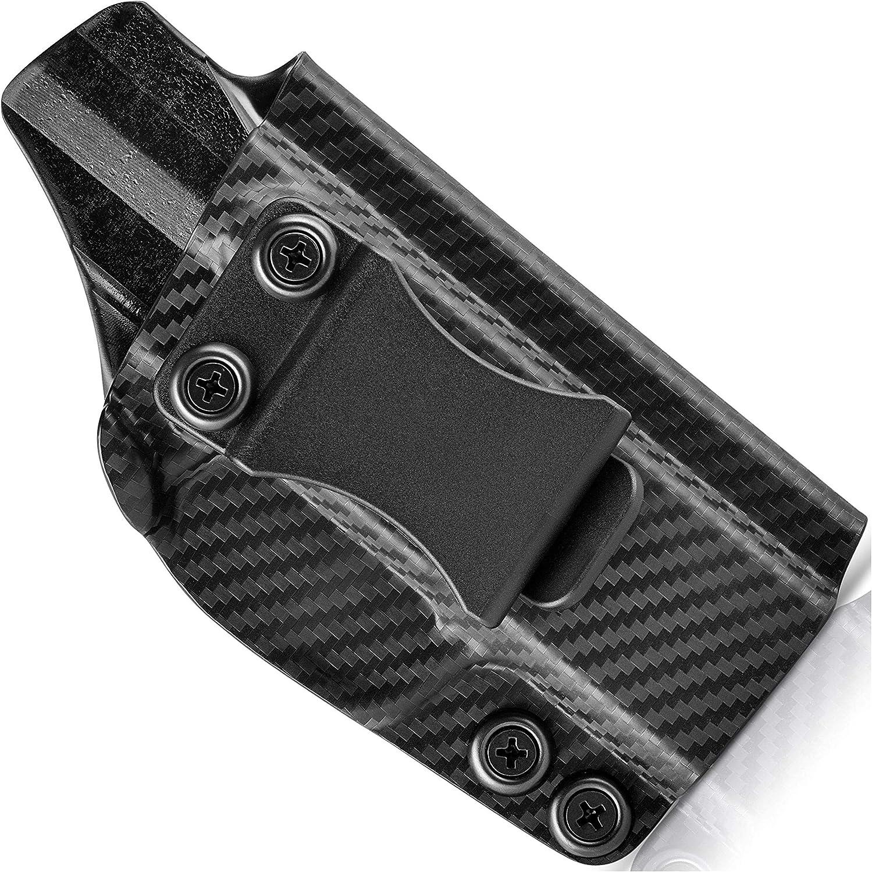 Concealment Express New Orleans Mall IWB KYDEX Holster Carbon Classic Fiber Black Ins -