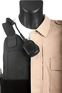 Tactical Mic Leash - Loop Keeps Lapel Mic in Place for Police/Law Enforcement Radio
