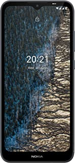 """Nokia C20 4G Smartphone with 6.5"""" HD Display, Dual SIM, 1GB RAM, 16GB ROM, Nordic design, front and rear 5MP cameras with ..."""