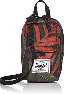 Herschel Form Small Cross Body Bag, Dark Olive Palm, One Size
