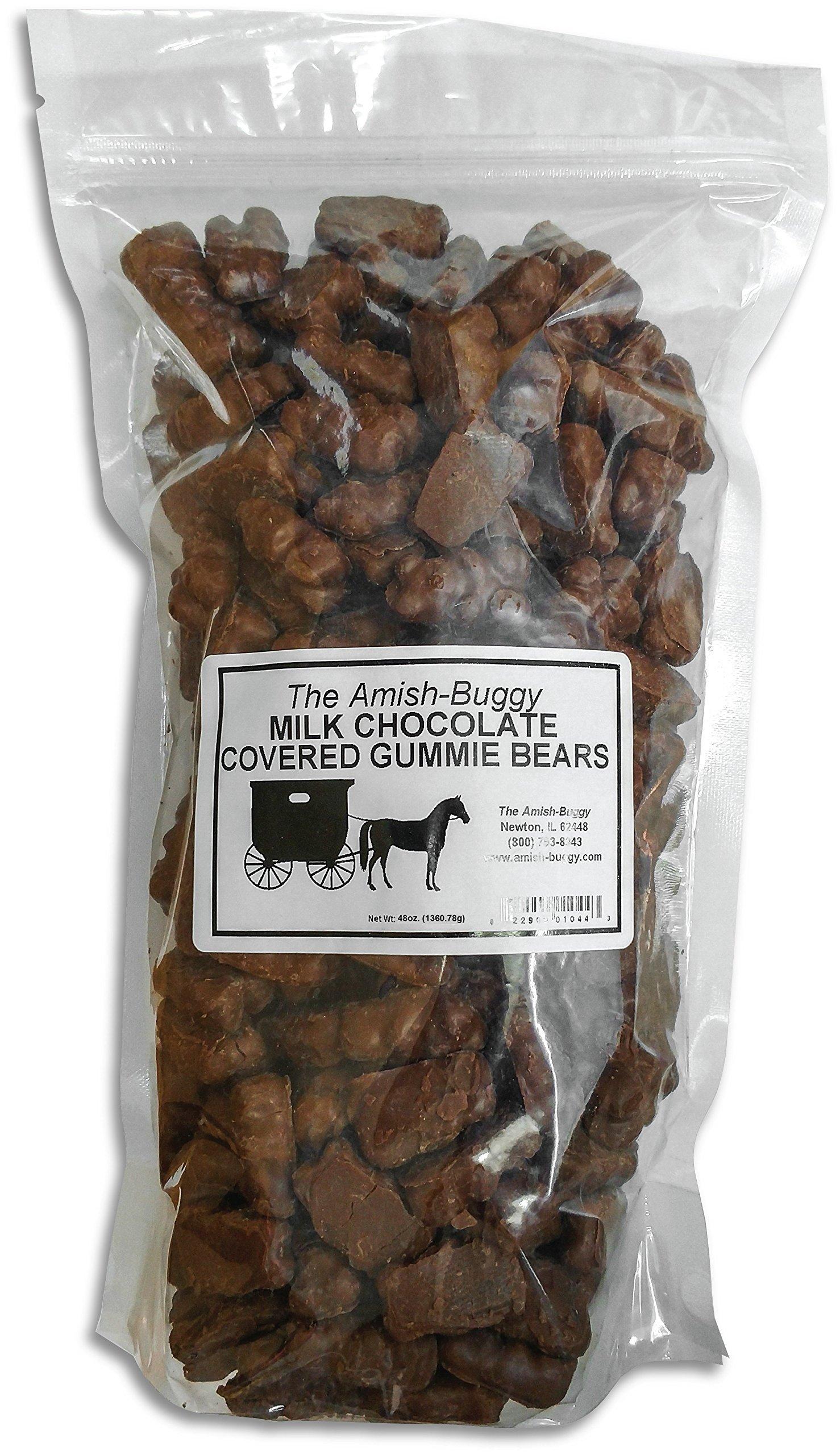 Milk Chocolate Covered Gummi Bears (3 Pound)