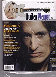 Guitar Player Magazine May 2005 (Aerosmith's joe perry flies solo! quick and easy home recording tips)