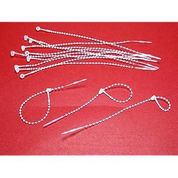 Snap Lock 7 Pin Security Loop Plastic Tag Fastener 5000 Pc Cox
