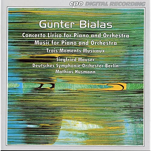 Bialas: Musik fur Klavier und Orchester - Concerto lirico - 3 Moments  musicaux by Siegfried Mauser on Amazon Music - Amazon.com