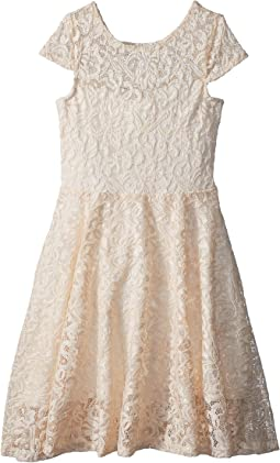 fiveloaves twofish Aurora Lace Skater Dress (Little Kids/Big Kids)
